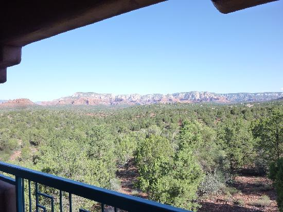 Sedona Summit Resort: Breath-taking view of the mesa