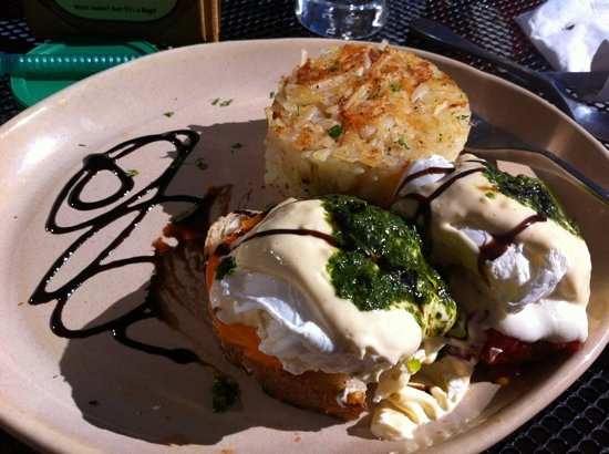 Snooze an A.M. Eatery: One of their many delicious Benedict options