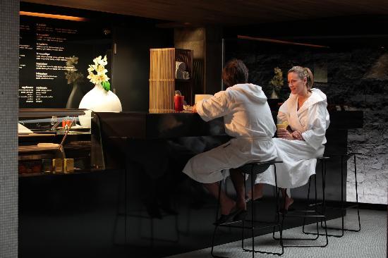 Scandinave Spa Vieux-Montreal: Bar à Jus / Juice Bar