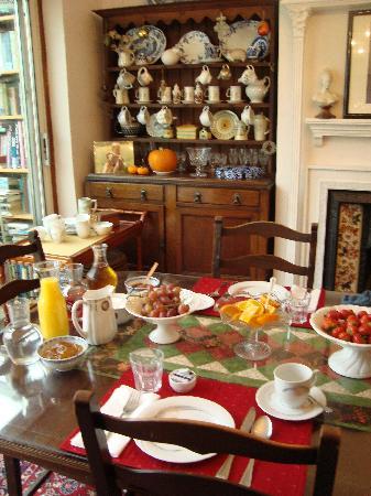 Bay Tree House Bed & Breakfast: Breakfast
