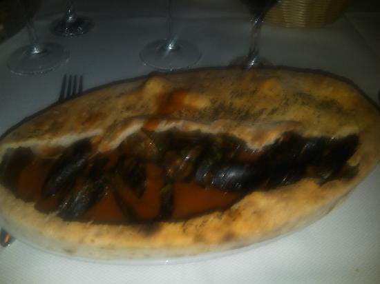 Villa Grassullo: soutè di cozze in crosta...