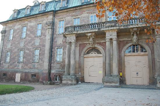 Schloss Burgscheidungen: Haupteingang