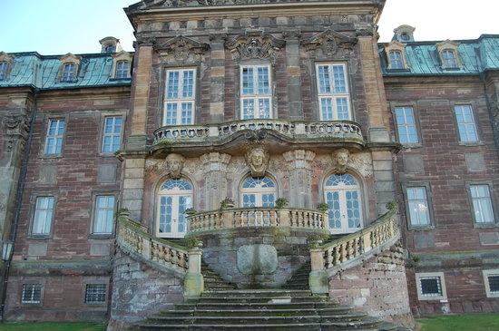 Schloss Burgscheidungen: Freitreppe