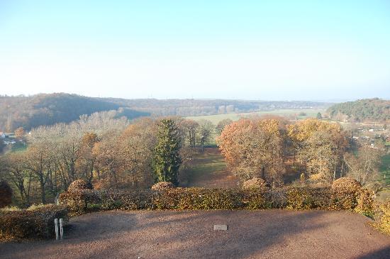 Schloss Burgscheidungen: Park