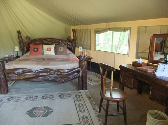 Governor's Camp: our bedroom