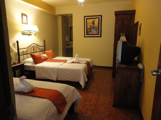Hotel Inca Real: Habitación doble