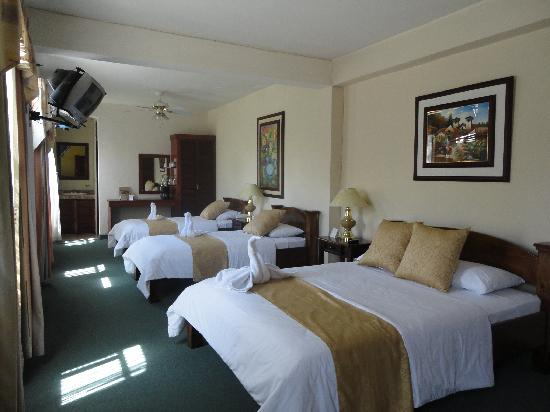 Hotel Inca Real: Habitación Cuadriple