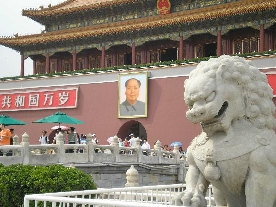 Forbidden City Hostel: Mao