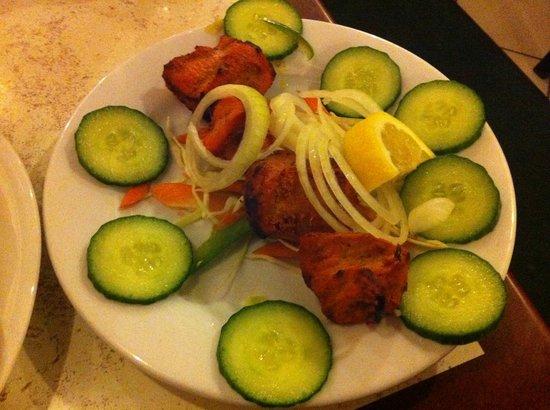 Chettinadu: chicken tikka