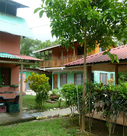 Las Mariposas: From the side, dorm