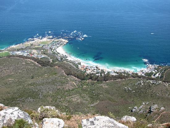 Blackheath Lodge: Clifton Beach from Lions Head