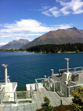 Oaks Club Resort: view from balcony