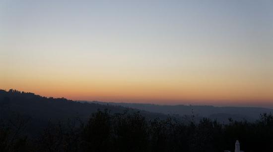 Relais Villa L'Olmo: Sun set