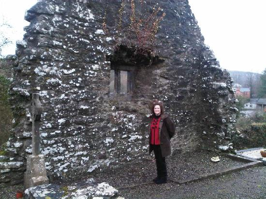Creevelea Friary: My beautiful wife