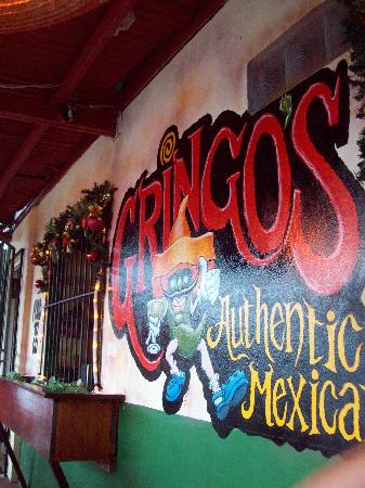 Gringo's: Even the art is good!