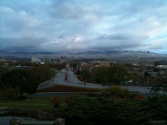 Boise, ID: city view from depot