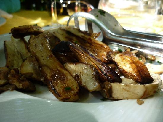 Trattoria Pettirosso: porcini grigliati freschissimi