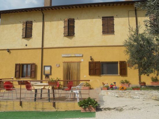 Locanda del Sole: External view of entrance