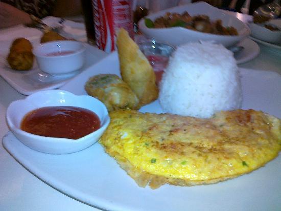 Cafe Via Mare: Crab relleno