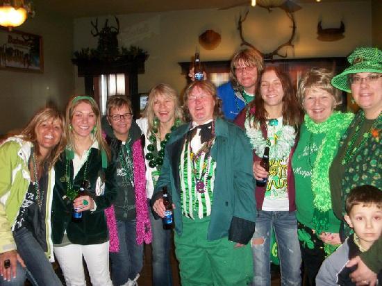 Antler Bar: Antlers St. Patricks Day
