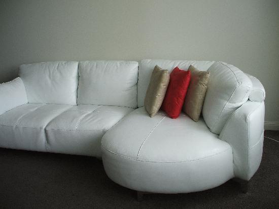 AEA Bridgeport: Best sofa ever close-up