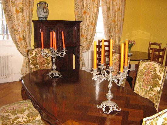 Chambre et table d 39 hote le blason 1 for Salle a manger 93