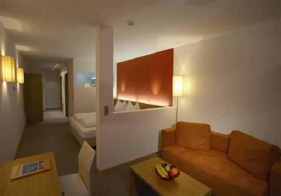 Hotel Alpenland: Junior Suite