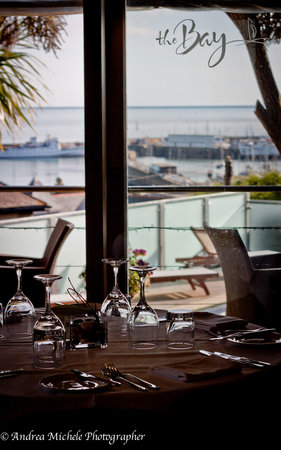 The Bay Restaurant : A view from your table