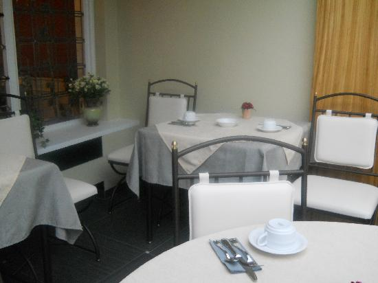Anselmus Hotel: Breakfast room