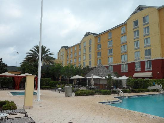 Hilton front desk picture of hilton garden inn orlando - Hilton garden inn international drive ...