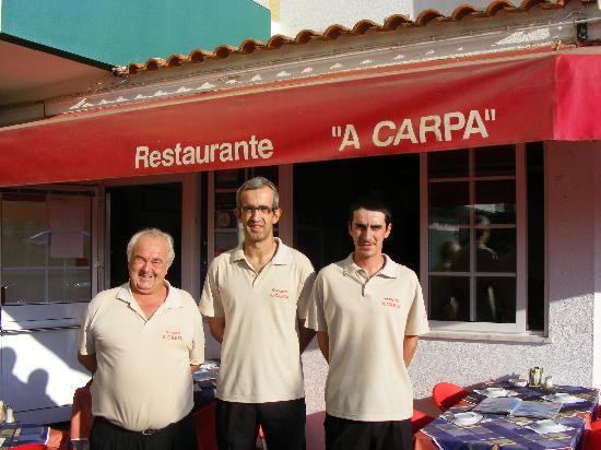 A Carpa: Antonio, Joseph and Richard