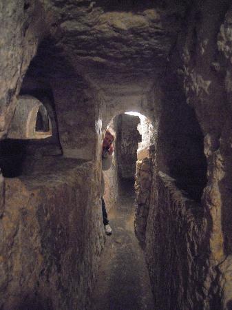 Krypta, Katakomben und Museum St. Agatha: catacombe S.Paolo