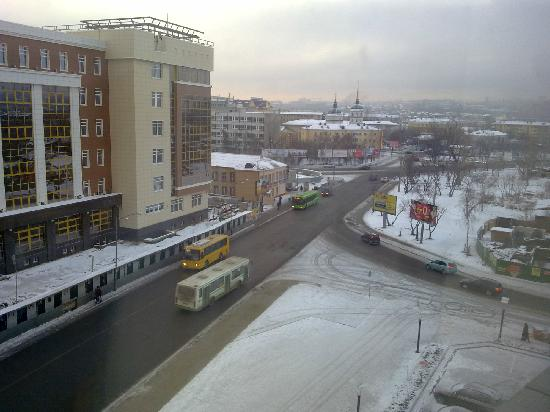 Courtyard Irkutsk City Center: views from sixth floor