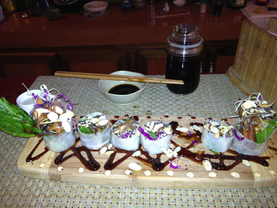 Raw Sushi + Martini Bar: one of my entrees