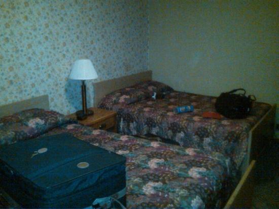 Bassett Lodge: our room