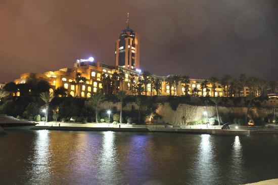Hilton Malta: Blick von der Marina
