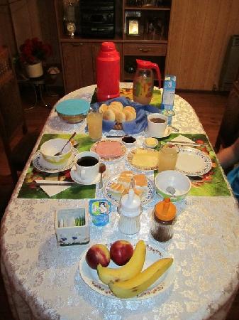 Casa Lucy: Desayuno