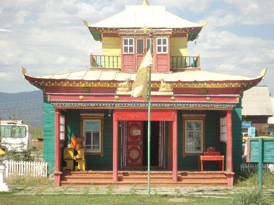 Ivolginsk Datsan (Buddhist Monastery): Temple at Ivolginsk Datsan