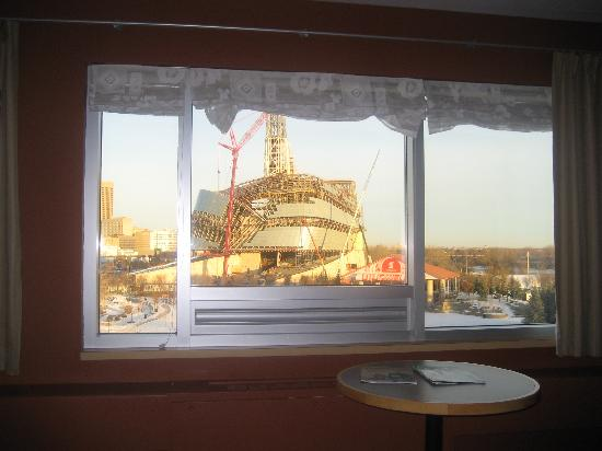 Inn at the Forks: view