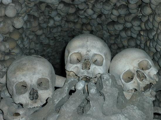 Ossuary / The Cemetery Church: You can make an offering to them