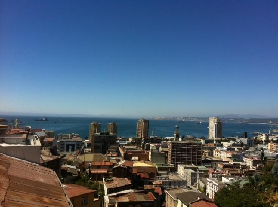 Valparaiso Experience Apartments: View from the terrace