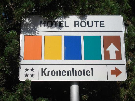 Kronenhotel Seefeld: 4 Star - NO WAY!