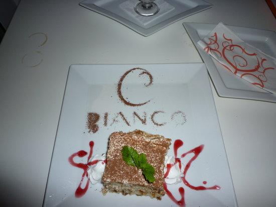 Bianco Restaurant: Tiramisu