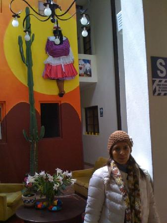 Mama Simona Hostel: Llegando a Mama Simona