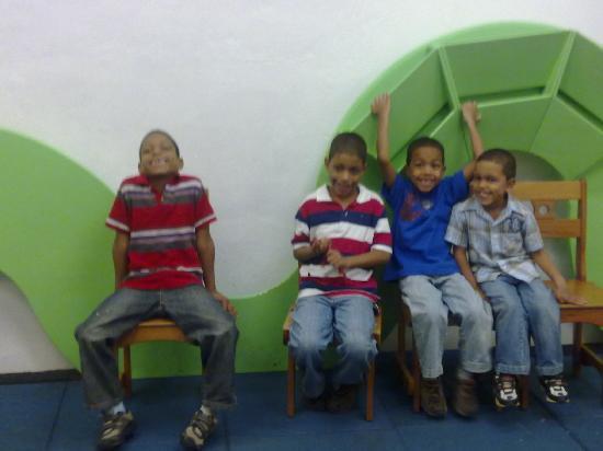 Museo Infantil Trampolin: esperando al guia