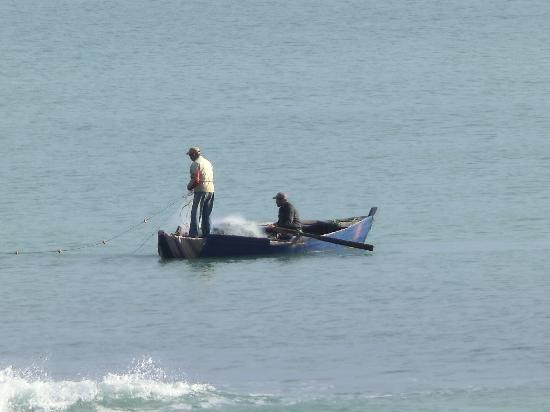 Mövenpick Hotel Gammarth Tunis: local fishermen ply their trade nearby
