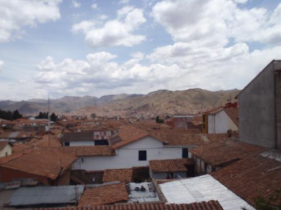 Hotel Ruinas: view from room