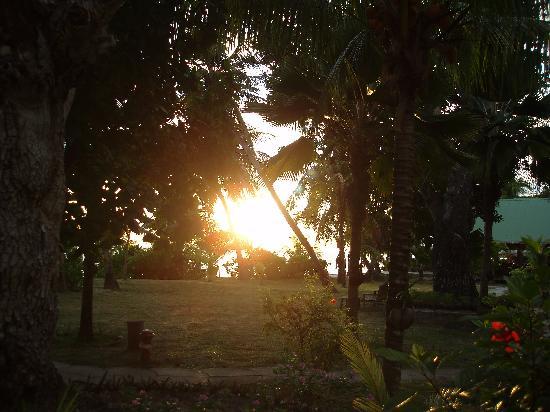 Indian Ocean Lodge: Vue de notre chambre (N°4 Rdc)