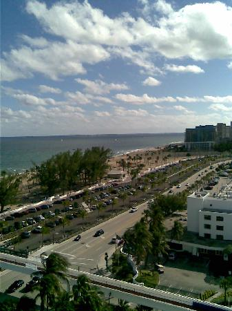 Bahia Mar Fort Lauderdale Beach - a Doubletree by Hilton Hotel: View from the 12th floor