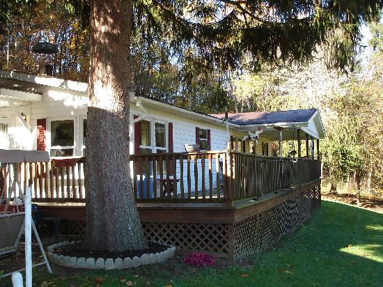 Great Escape Cabins - Hocking Hills Cabins of Choice : Wicklow Cottage